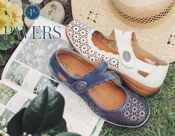 Pavers Shoes at Waterside Garden Centre