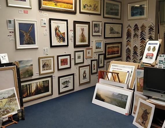 Peregrine Gallery & Framing