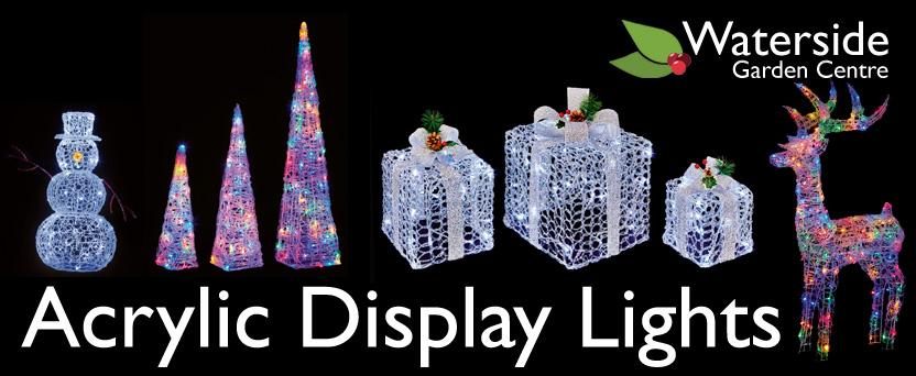 Acrylic Christmas Display Lights