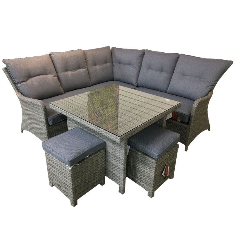 Supremo Barcelona Corner Modular Dining Set Hayes Garden World