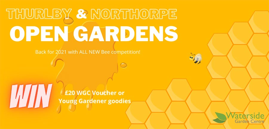Thurlby Northorpe Open Gardens Bee Competition